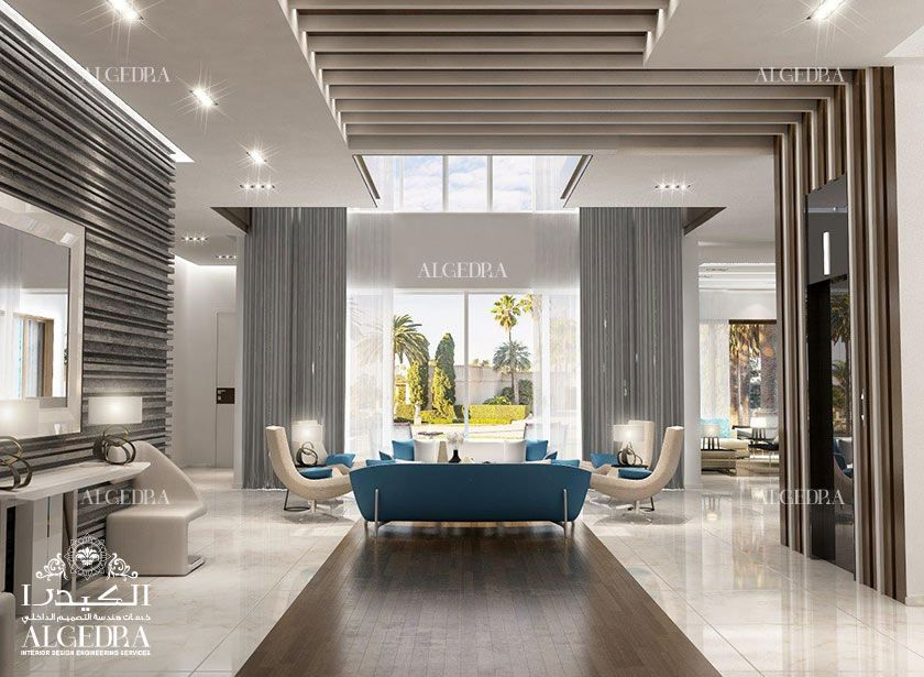 Entrance Lobby Design For Villa Interior Design Dubai