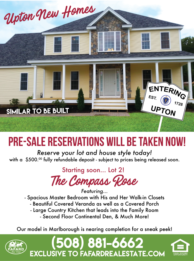 Upton Ma New Development 8 Single Family Homes Near Route 495 And The Mass Pike Home And Family Upton House Styles