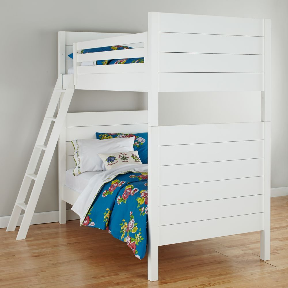 Two twin loft bed  Uptown Bunk Bed White  Products