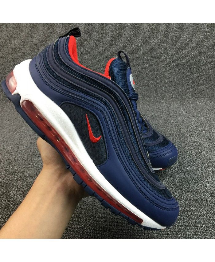 Cheap Nike Air Max 97 Navy Blue Red White Nike1199