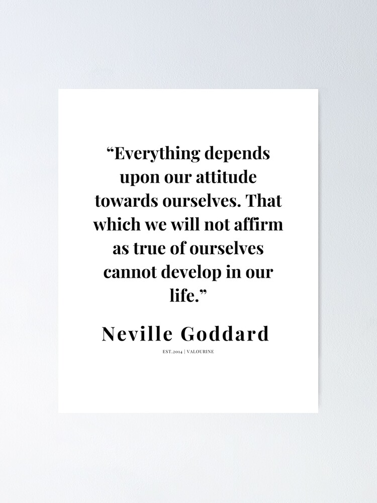 9  | Neville Goddard Quotes | 210308 | Motivational Quote Poster by QuotesGalore
