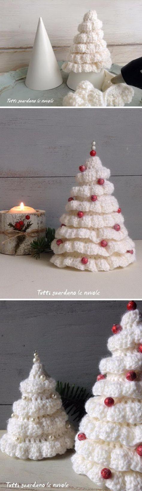 Vistoso Patrón De Tejer Para Una Media De La Navidad Inspiración ...