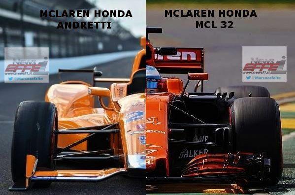 Comparison F1 Vs Indycar Mclarenf1 Hondaracingf1 Vs