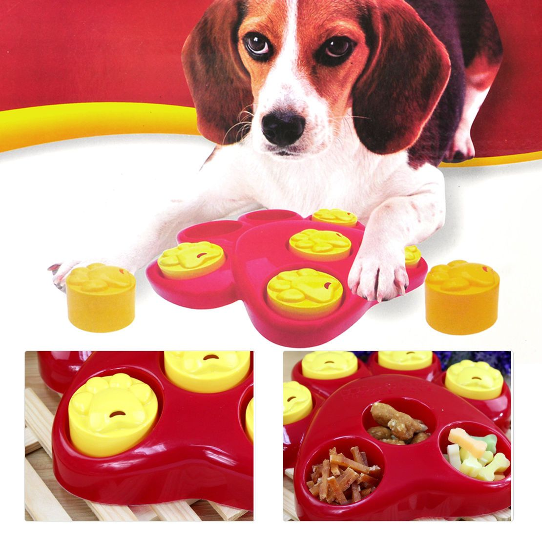 11 28 Aud Outward Hound Pet Dog Paw Food Dispensing Hide Scent
