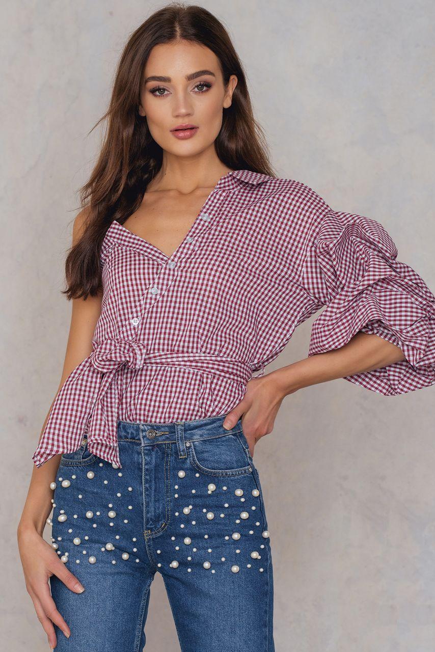 Miki Top - Denim, Knit Tops   Fashion Nova