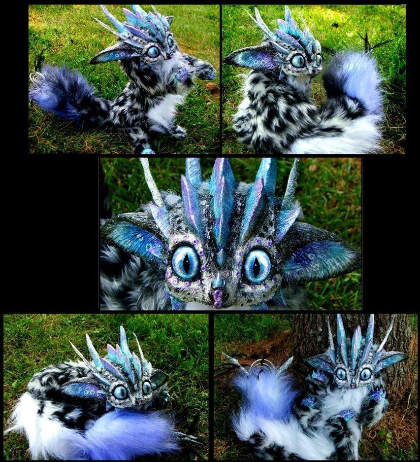 Posable Snow Leopard Dragon By Wood Splitter Lee On Deviantart