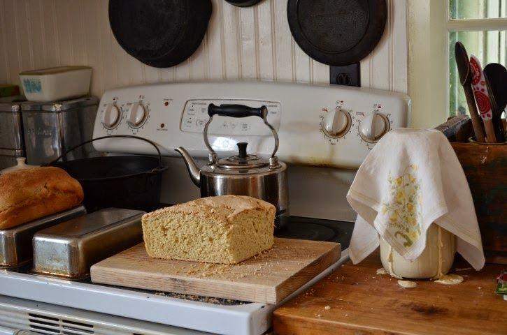 Our Ash Grove soaked whole grain bread