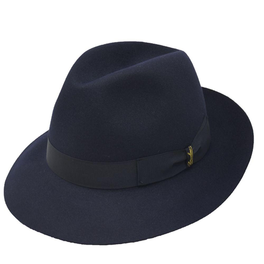 Borsalino Classic Fedora Hat
