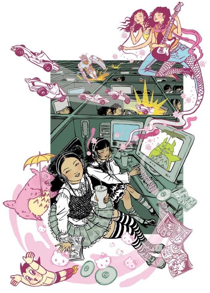Estampes Modernes By Yuko Shimizu Yuko Shimizu Shimizu Illustrators
