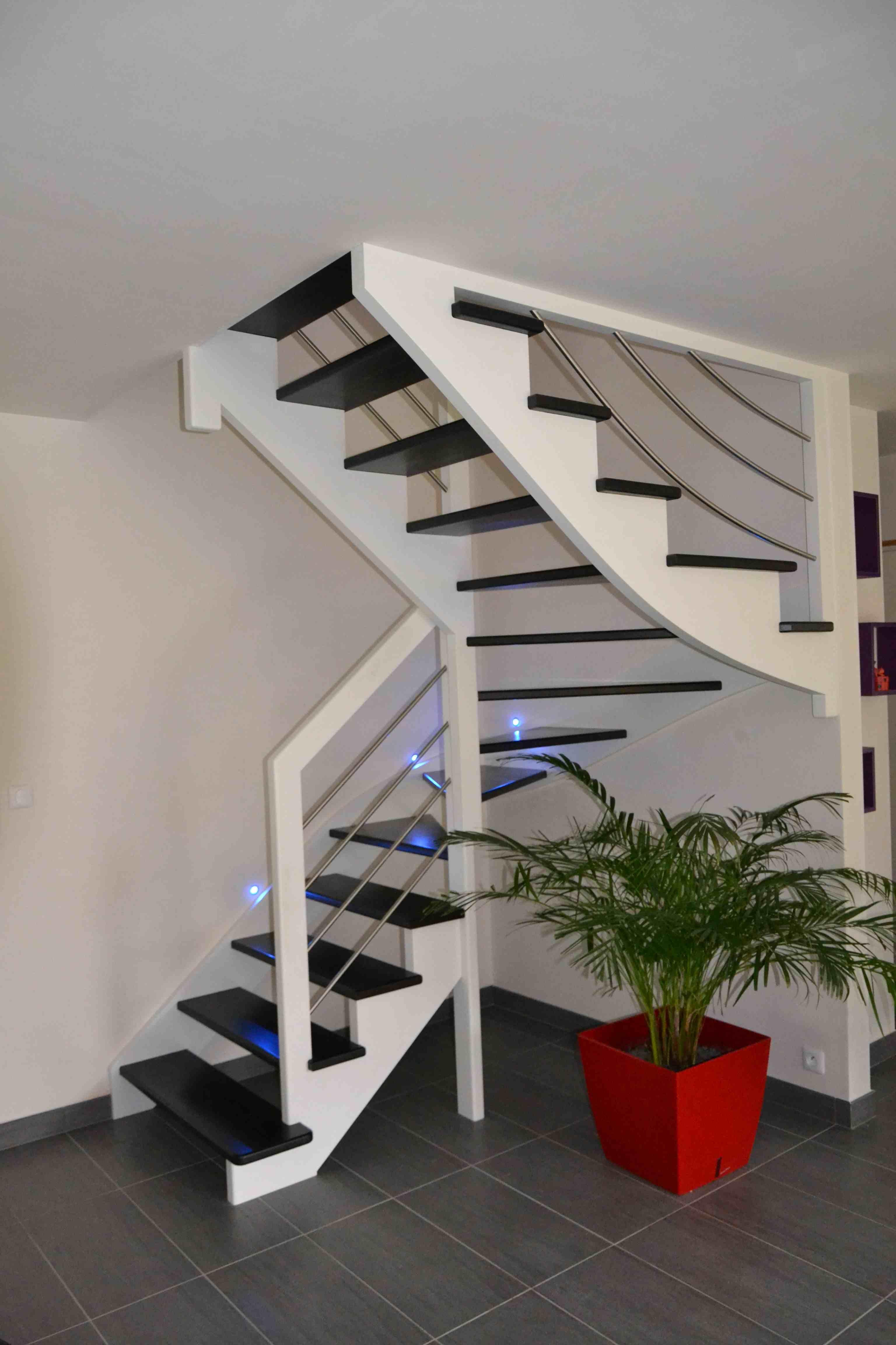 Une Realisation Des Escaliers Potier Escalier Bois De La Gamme