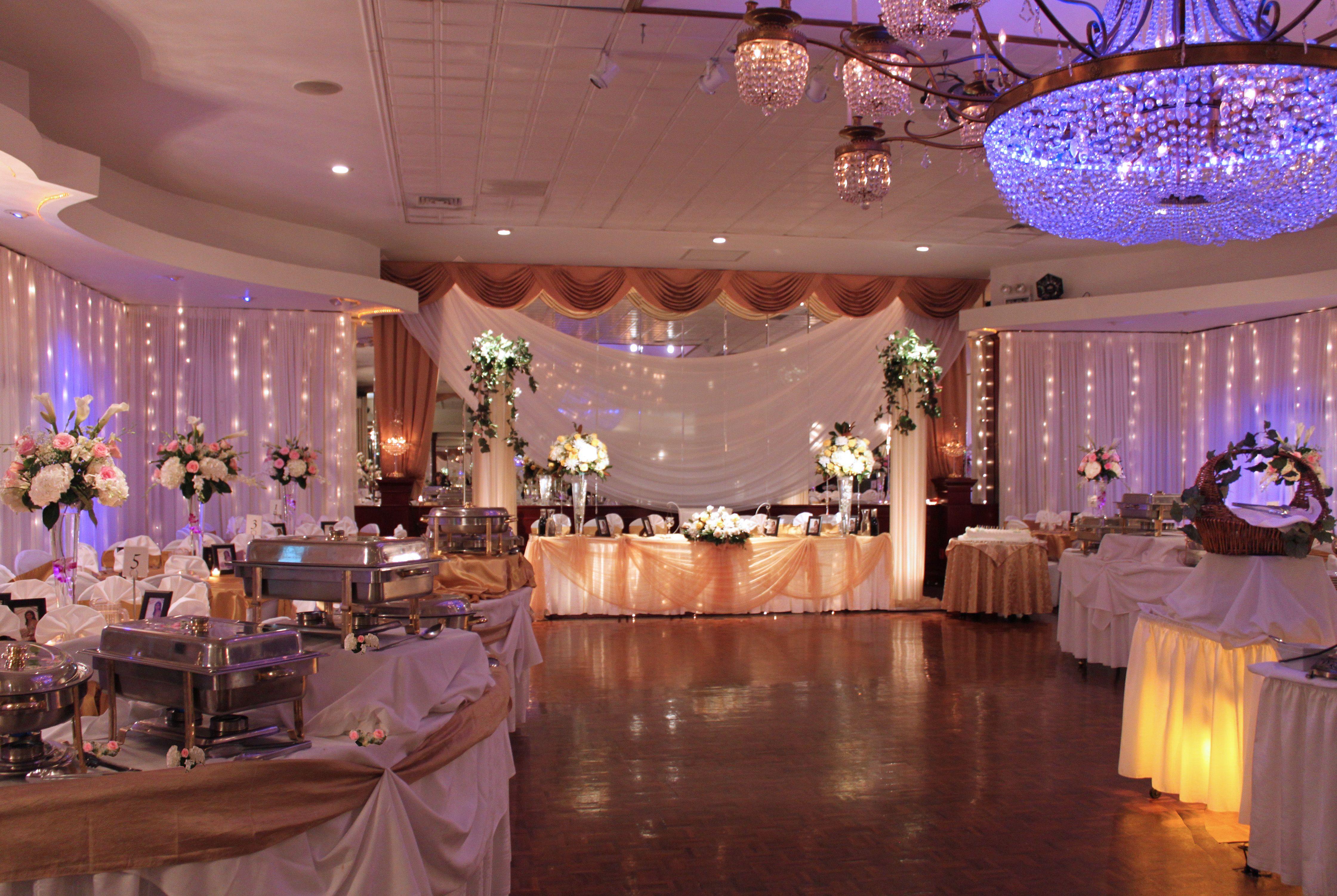 Simple Elegant Wedding Decor At Princess Manor