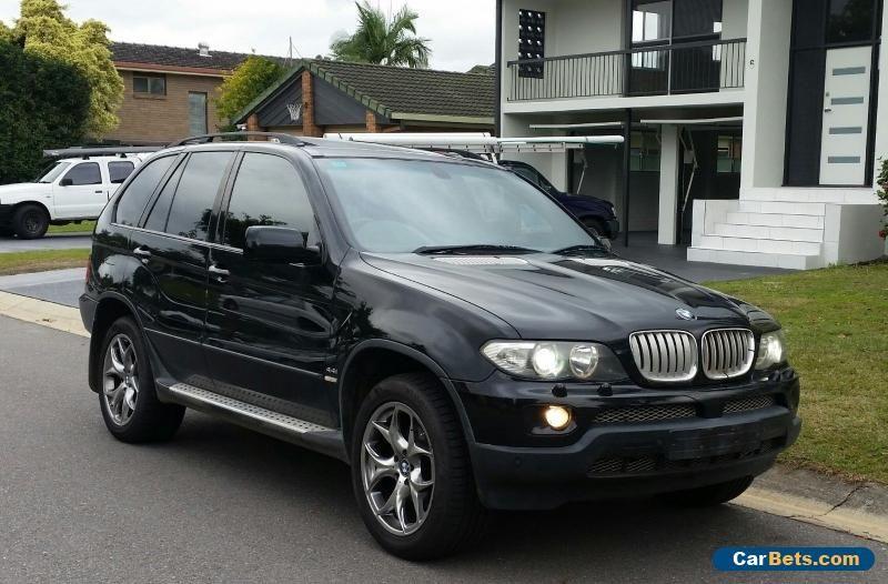 2004 bmw x5 sport 4 4l v8 metallic black luxury bmw x5 forsale rh pinterest com