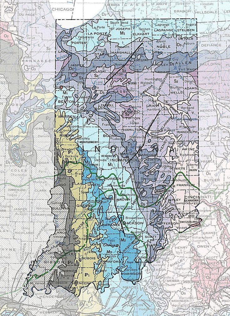 Geologic Maps Of The 50 United States In 2019 Fifty Nifty