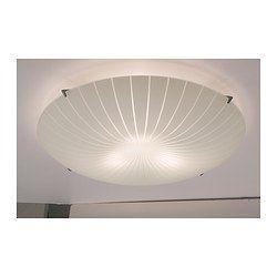 Calypso Ceiling Lamp White Bedroom