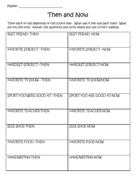 Looking for some activities for the last day of school? Try these ...