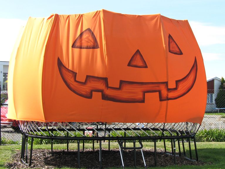 Trick or Treat! DYI Costume for Your Trampoline
