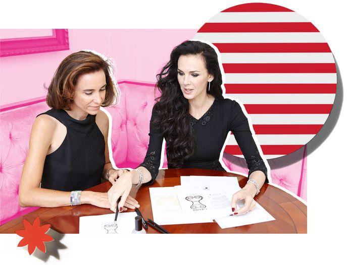 Senior Writer Kelley Hoffman quizzes fashion designer L'Wren Scott and Caudalie founder Mathilde Thomas on the cult of personality. Read more on the Glossy! #Sephora #SkincareIQ