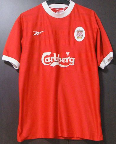 4c2b3a2c766 1998-2000 Home Kit Liverpool