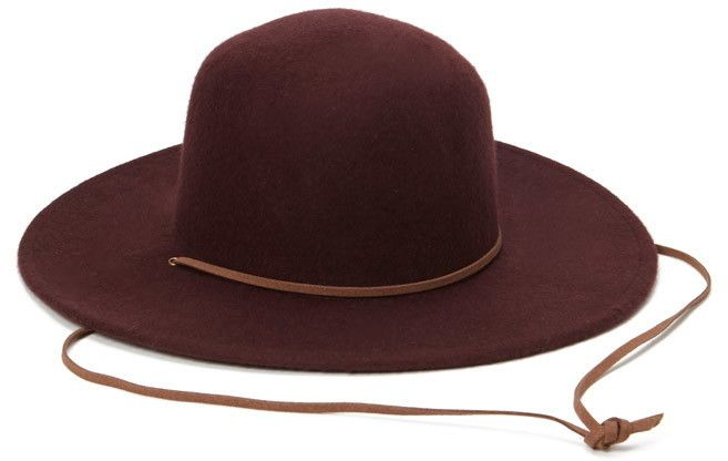 FOREVER 21 Wide-Brim Wool Hat