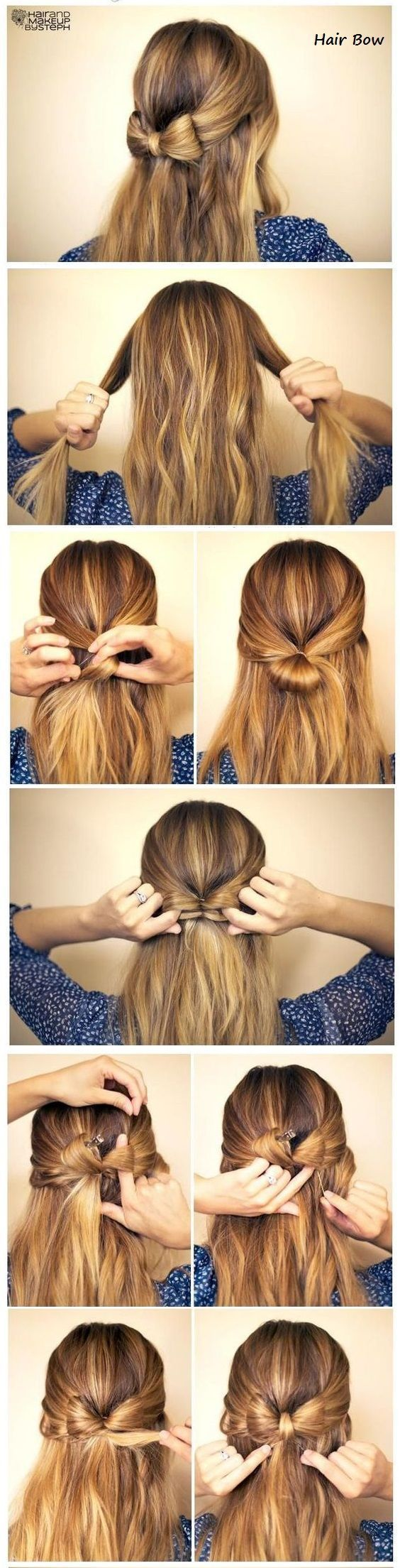 15 Easy Prom Hairstyles For Long Hair You Can Diy At Home Detailed Step By Step Tutorial Sun Kissed Violet Frisuren Haartutorial Lange Haare Madchen
