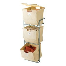Panier à Linge 36 Bacs à Casto Sdb Rangement Linge Sale
