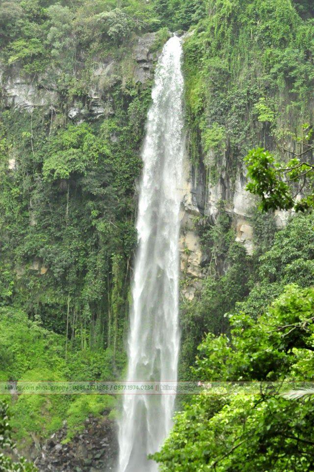air terjun curug sewu tawangmangu foto oleh klikmg com
