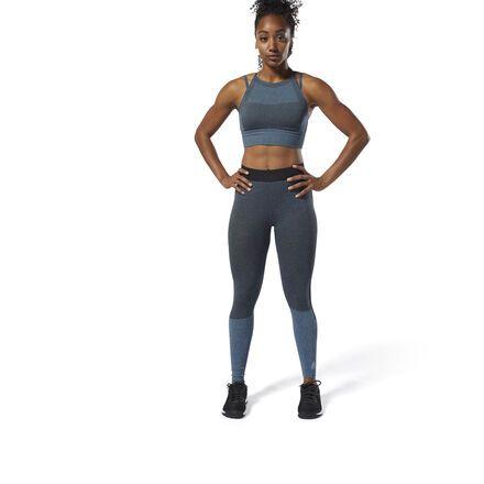 7b6f57bbf6 Reebok Women's CrossFit® MyoKnit Tights in Blue Hills/Black Size 2XS ...