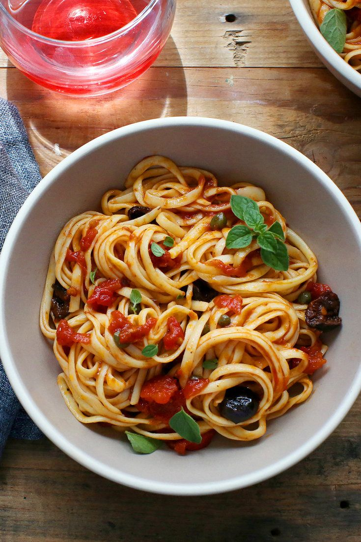 Pin By Eesha Nayak On Recipes Pasta Puttanesca Food Recipes