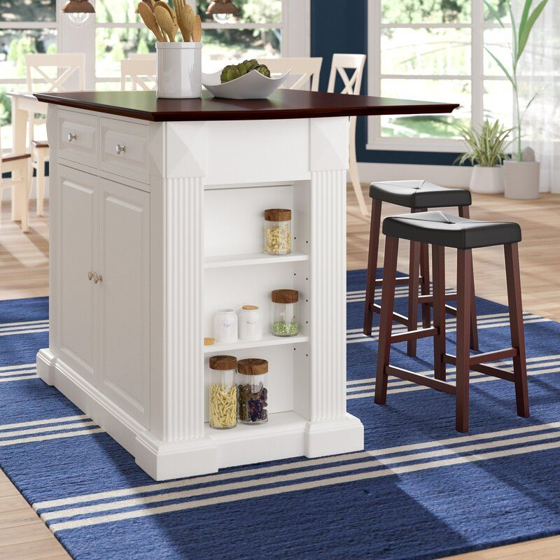 Three Posts Haslingden Kitchen Island Reviews Wayfair In 2021 Kitchen Remodel Cost Kitchen Island With Seating Kitchen Design