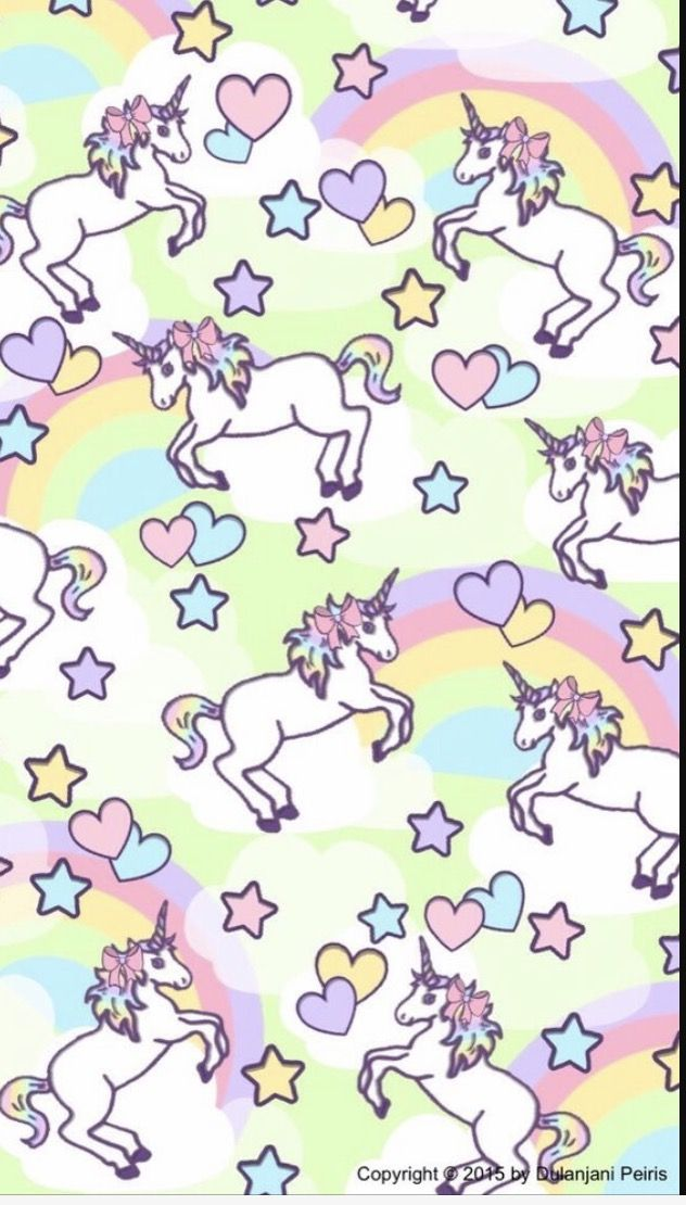 Cute Unicorn Rainbow Emoji Kawaii Wallpaper Hipster S Wallpapers Iphone Phone Backgrounds