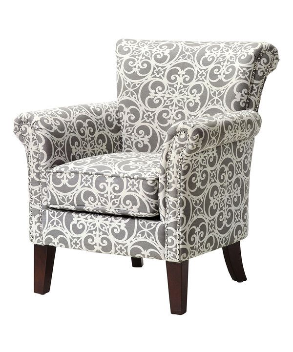 Look At This Gray Brandi Accent Chair On Zulily Today