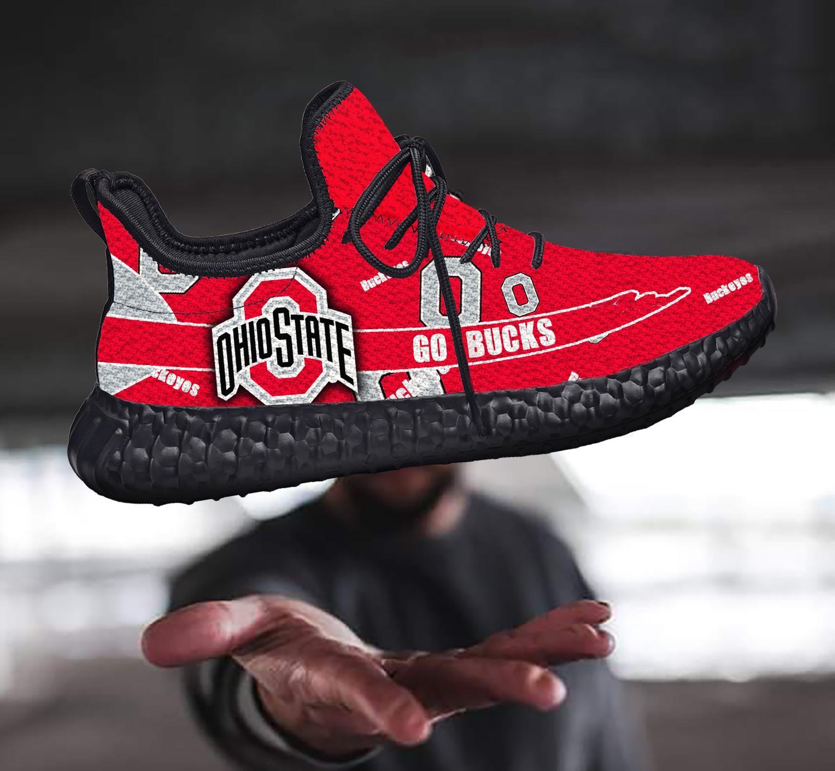 Ohio State Buckeyes Yeezy shoes B110606