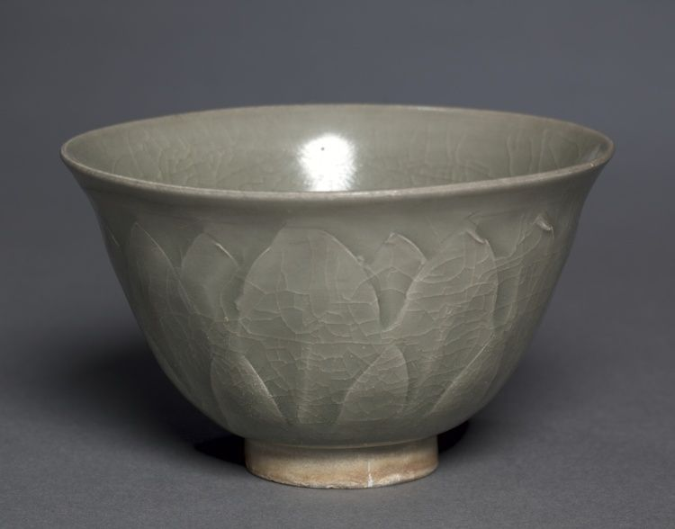 bowl northern celadon ware yaozhou type 11th century