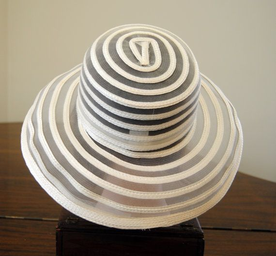 Vintage Hat   Opalescent Blush  Fabric Look Sheer Strips  by YPSA, $25.50