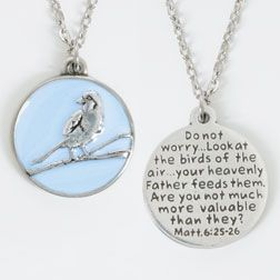 Bob siemon designs christian necklace lt bluesparrowmatt 625 christian necklace lt bluesparrowmatt 6 aloadofball Image collections