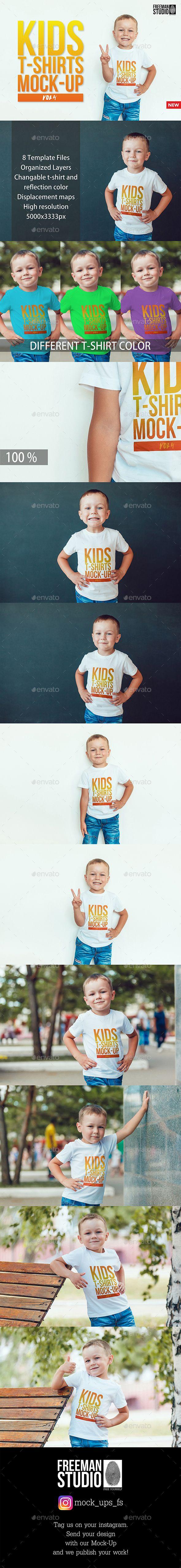 Download Kids T Shirt Mock Up Kids Tshirts Tshirt Mockup Mockup Photoshop