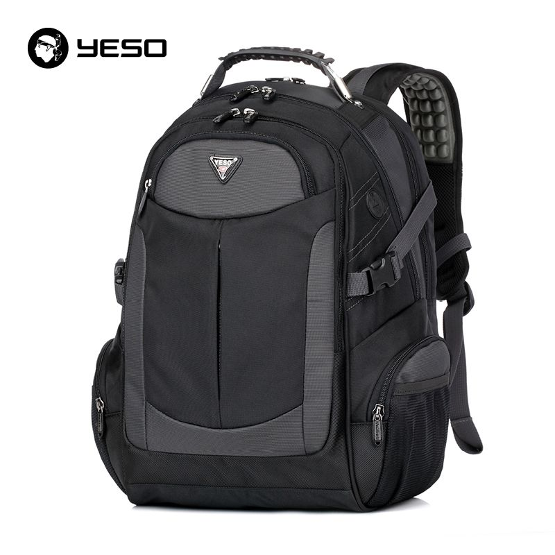 cd97a2879 YESO Brand Laptop Backpack Men's Travel Backpacks Multifunction Rucksack  Waterproof Oxford Black School Bags For Teenagers #>=#>=#>=#>=#> Click on  the pin ...