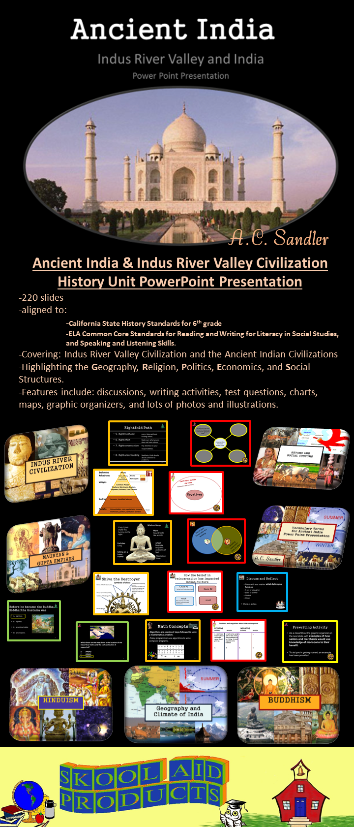Ancient India & Indus River Valley Teaching Unit