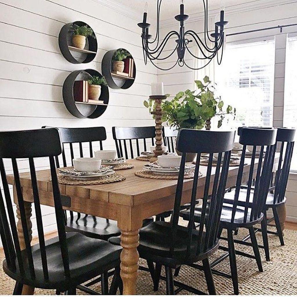 30 Best Farmhouse Table Dining Room Decor Ideas: 36 Best Farmhouse Dining Room Design Ideas Easy To Apply