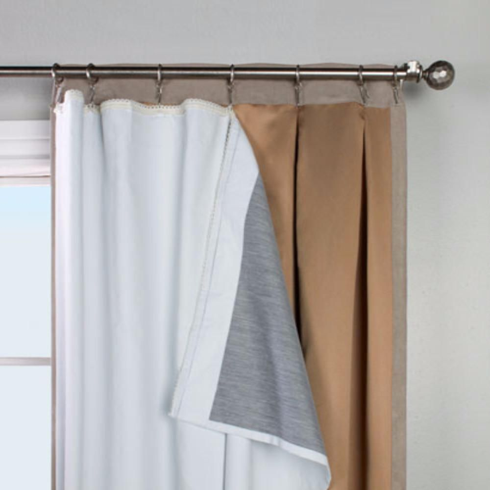 Multi Purpose Ultimate Liner For Grommet Top Curtain Panels Available In 63 84 And 95 Lengths And Multifunctiona In 2020 Curtains Insulated Curtains Panel Curtains