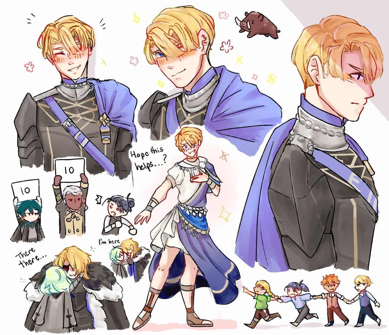 Dimitri Alexandre Blaiddyd Tumblr Fire Emblem Fire Emblem Fates Fire Emblem Games He is one of the main protagonists and playable characters in fire emblem: dimitri alexandre blaiddyd tumblr