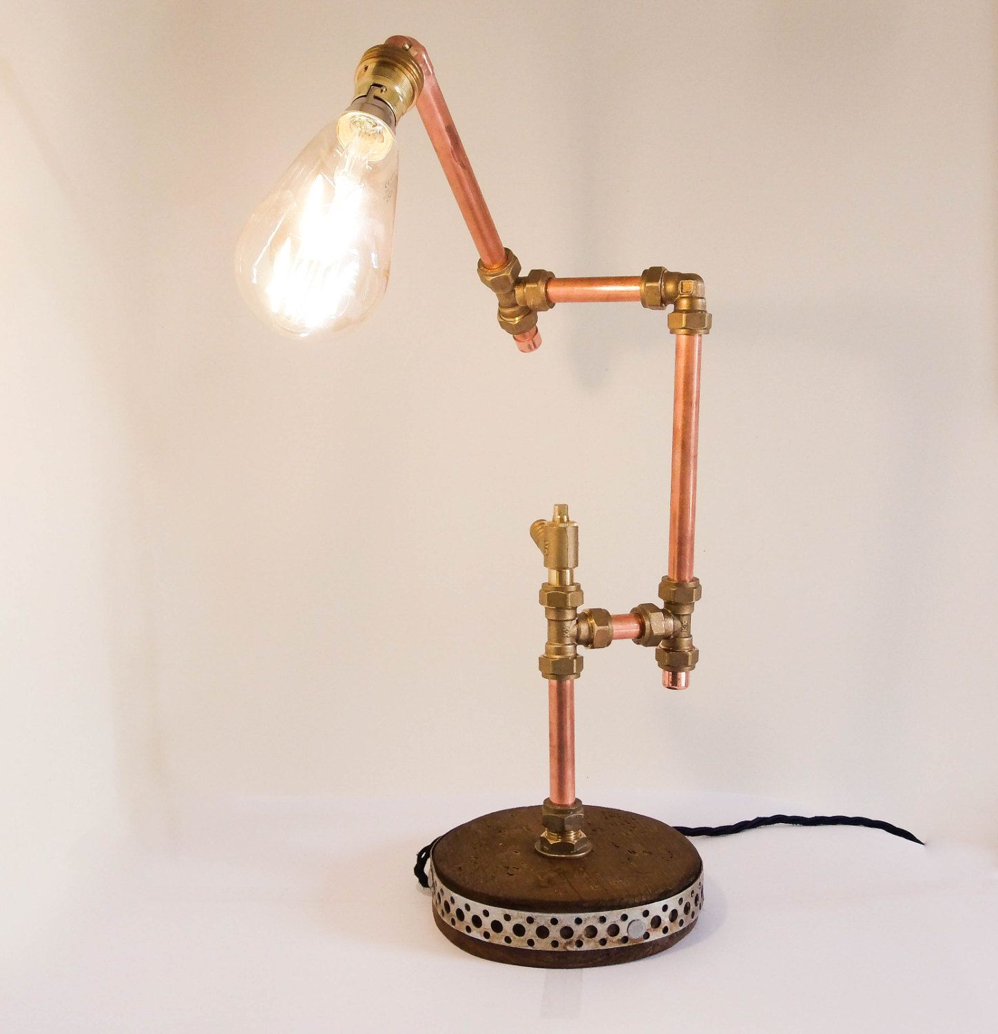 Industrial Design Coppertable Lamp Id Lights Desk Lamp Lamp Retro Table Lamps