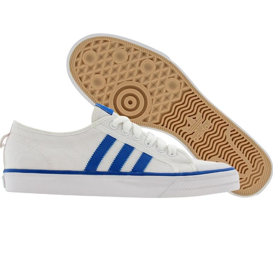 Adidas Nizza Low white blue bird white Shoes G12011   PickYourShoes