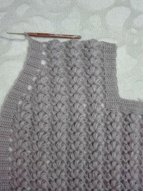 Tığ İşi Yelek Yapılışı Yaka Koltuk Kesimi #crochetedheadbands