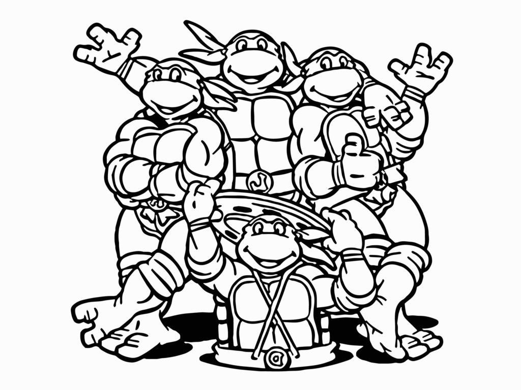 Ninja Turtle Coloring Pages Inspirational Coloring