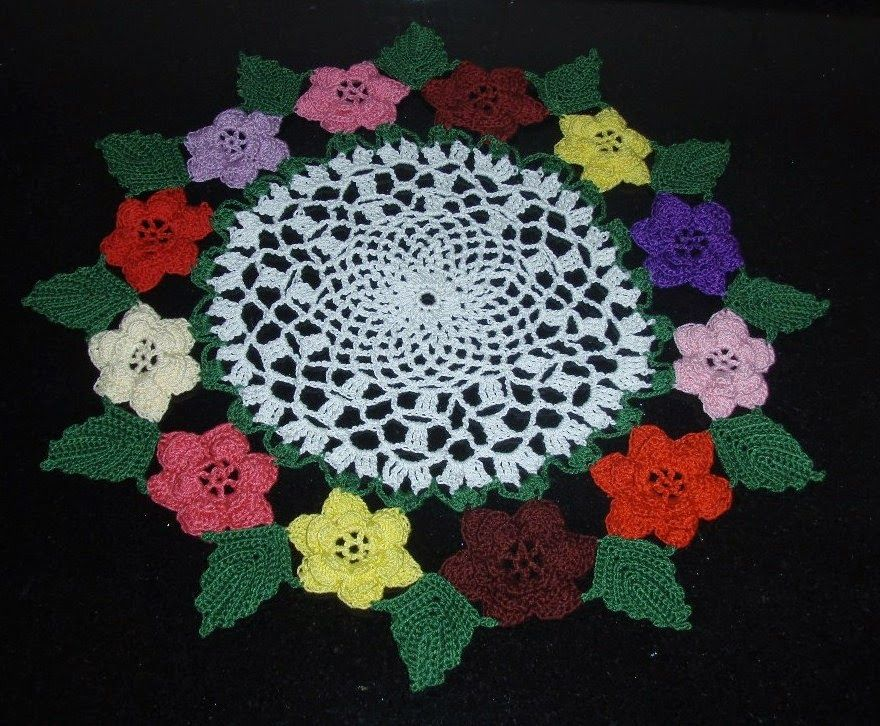 Doily Patterns 12 Rose Irish Doily Free Pattern Doilysrunners