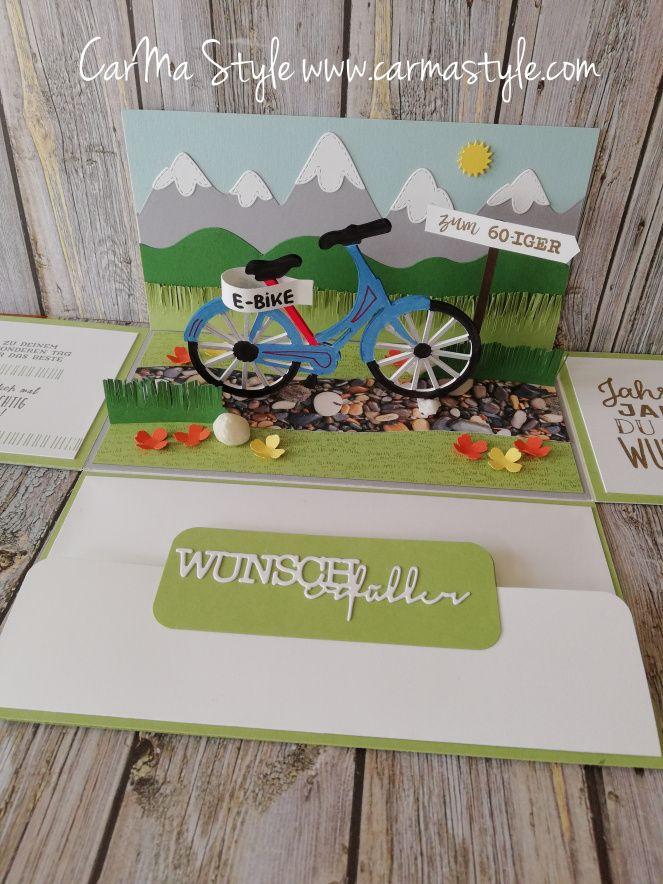 E Bike zum Geburtstag (CarMa Style)   Geldgeschenk fahrrad
