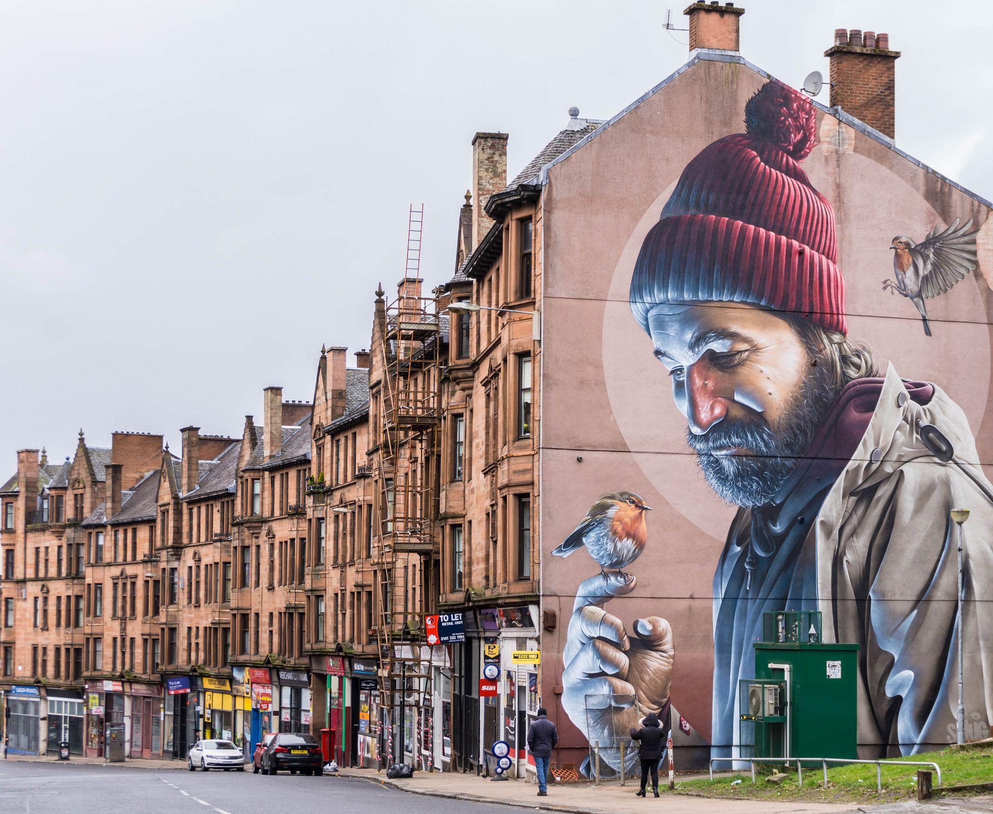 Glasgow street art in 2020 scotland travel glasgow