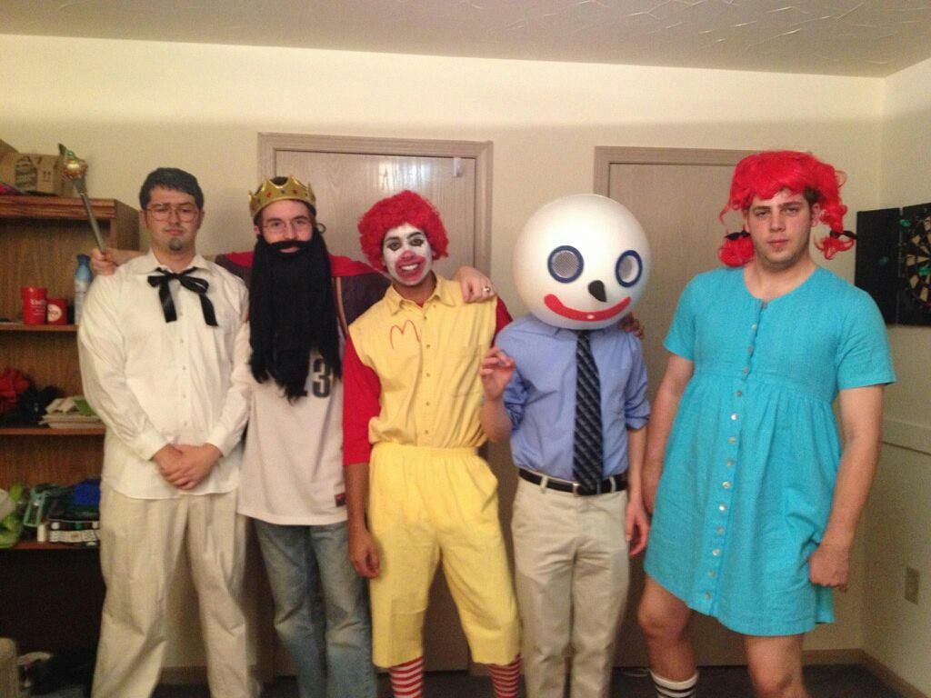59 creative homemade group costume ideas group halloween fast food giants a super creative and easy group halloween costume you can make at home solutioingenieria Images