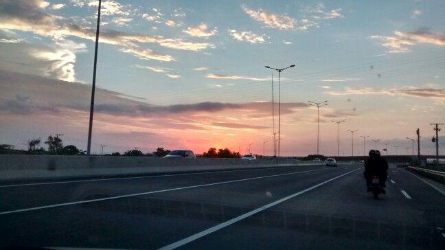 Pôr do sol